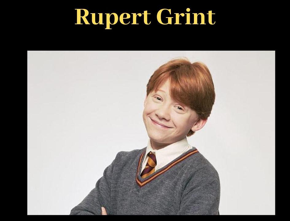 ハリーポッターのロン役 ルパート グリントってどんな人 Felix Felicis